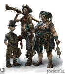 Poor family - Fable II Concept art