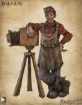 Barnum - Fable II Concept art