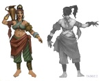 Romani lady - Fable II Concept art