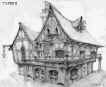 Inn - Fable II Concept art