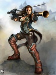 Good Female - Fable II Concept art