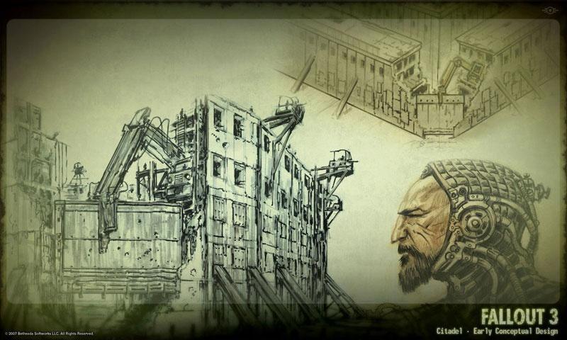 fallout 3 concept art neoseeker
