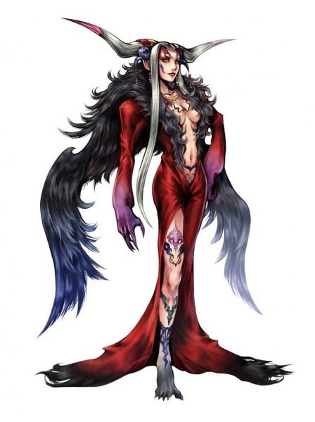 Dissidia Final Fantasy Concept Art