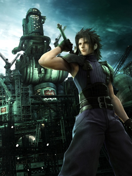 Crisis Core Final Fantasy Vii Concept Art