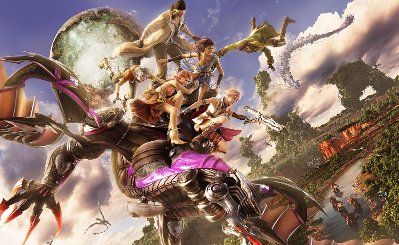 Final Fantasy XIII Concept Art - Neoseeker