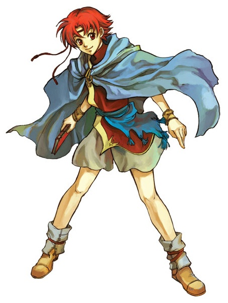 Fire Emblem: The Sacred Stones Concept Art
