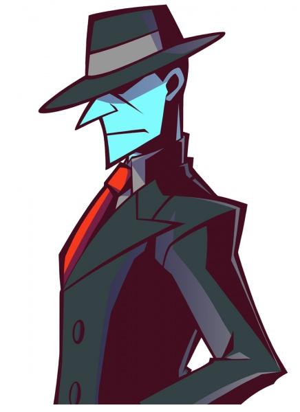 Ghost Trick Phantom Detective Concept Art