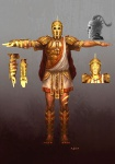 Helios - God of War III Concept art