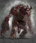 Cronos Cyclops - God of War III Concept art