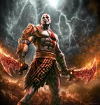 Kratos - God of War III Concept art