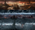 Tartarus - God of War III Concept art