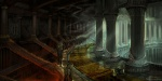 Hades Hall Interior - God of War III Concept art