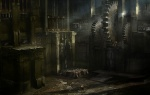 Gears Room - God of War III Concept art