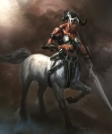 Female Centaur - God of War III Concept art