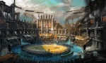 Coliseum Arena - God of War III Concept art