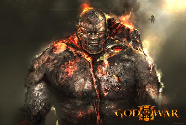 god of war 3. God of War III Concept Art