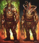 Hades - God of War III Concept art