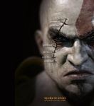 Kratos Face - God of War III Concept art