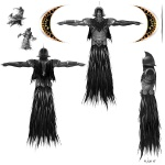 Wraith Concept - God of War III Concept art