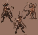 Satyr - God of War III Concept art
