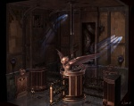 Lab Mixer Room - God of War III Concept art