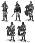 Greek Soldier - God of War III Concept art