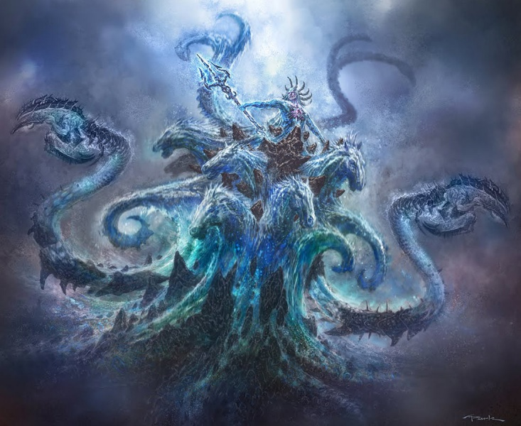 Poseidon God Of War Iii Concept Art