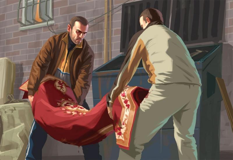 Grand Theft Auto Iv Concept Art Neoseeker