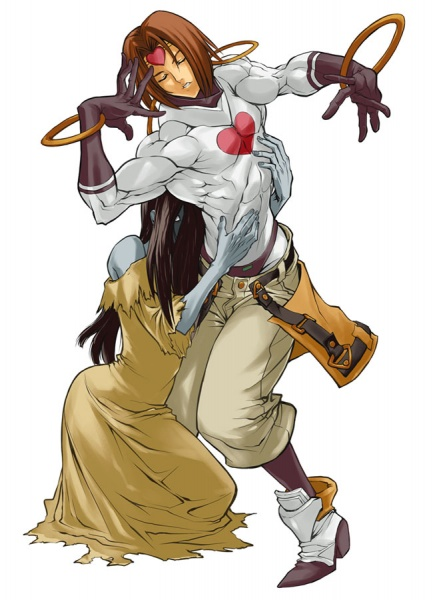 Guilty Gear XX Accent Core Concept Art