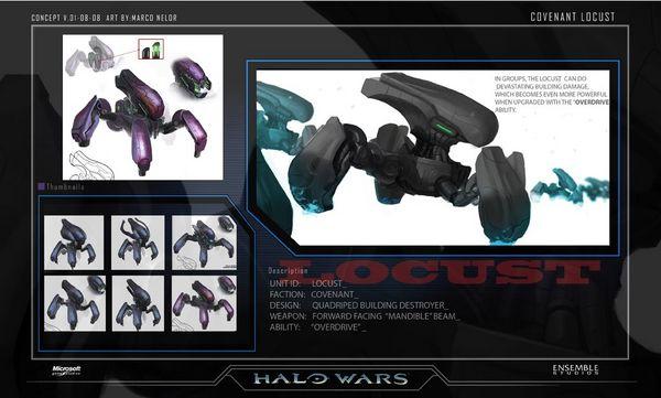 Halo Wars Concept Art - Neoseeker