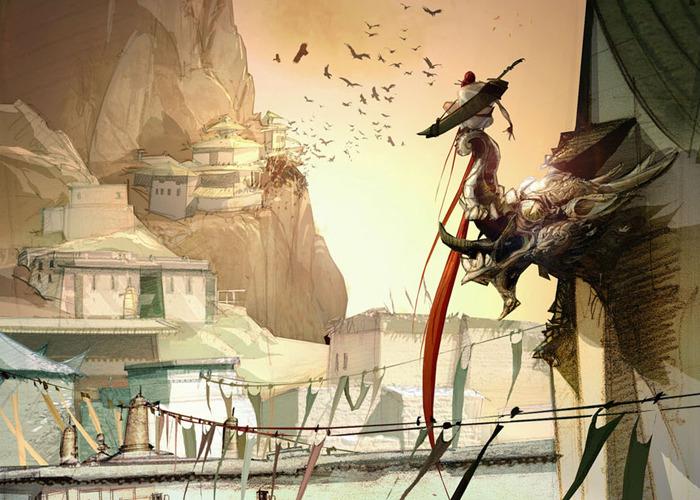 Heavenly Sword Concept Art