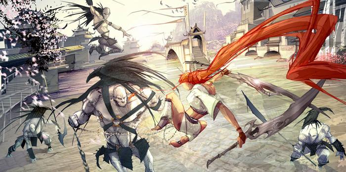 Heavenly Sword Concept Art Neoseeker
