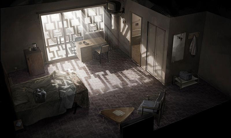 Heavy rain concept art for Total interior designs inc