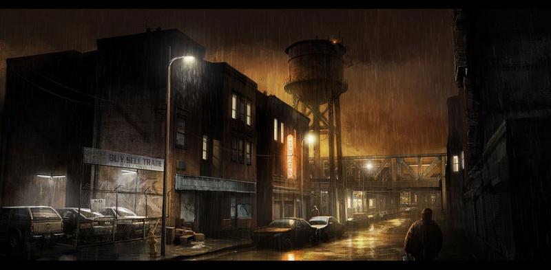 Heavy Rain Concept Art