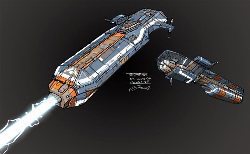 Homeworld 2 concept art for World of war craft com