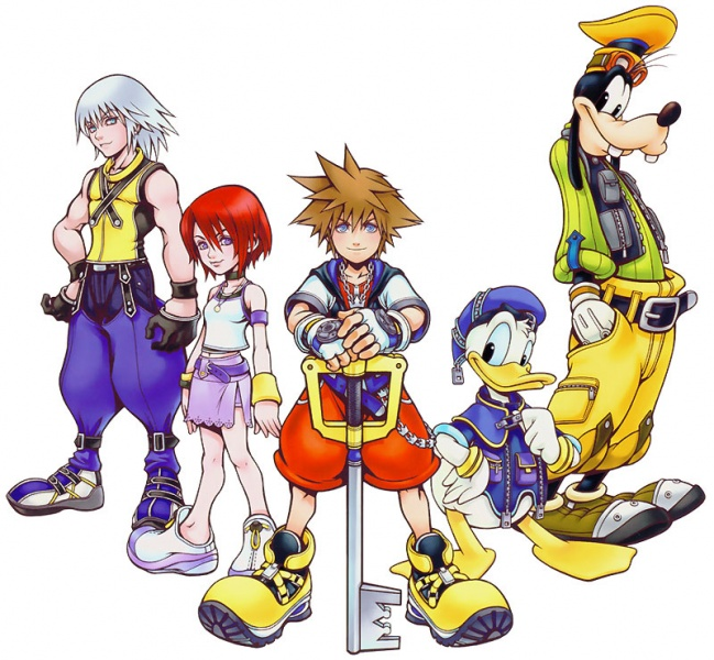 Kingdom Hearts Concept Art