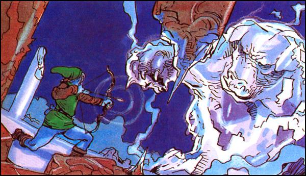The Legend Of Zelda Concept Art