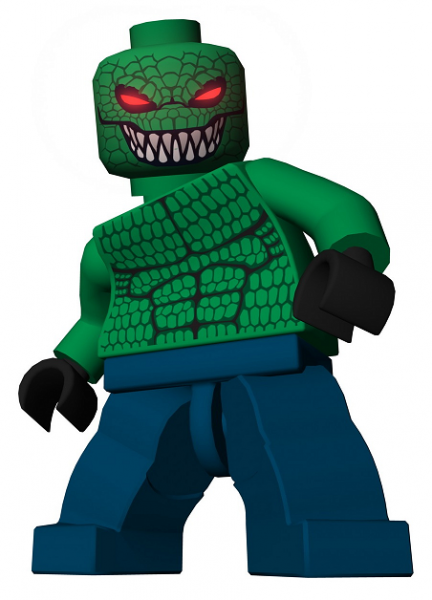 Lego Batman Conceptart Ztfi on Lego Batman Killer Croc