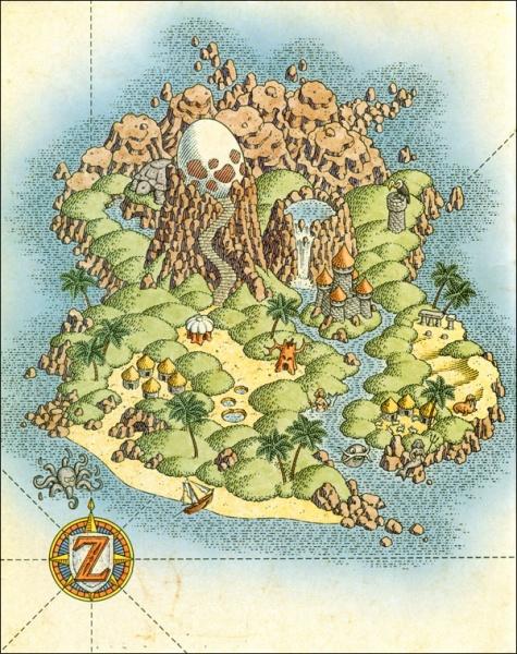 The Legend Of Zelda Link S Awakening Dx Concept Art Neoseeker