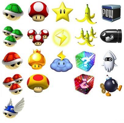 Mario kart wii concept art - Tous les personnages mario kart wii ...