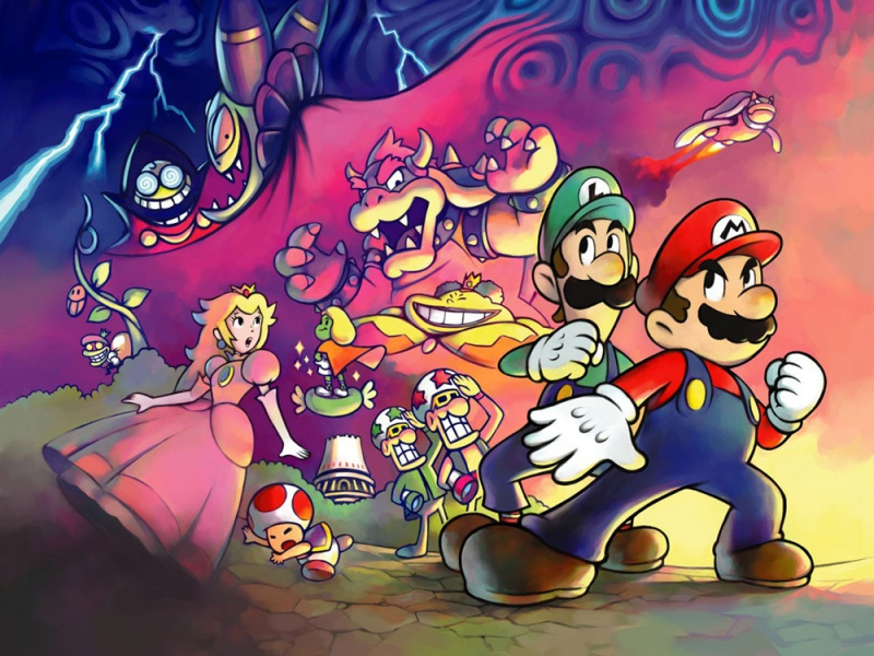 mario s official 2d artwork is amazing post your favorites