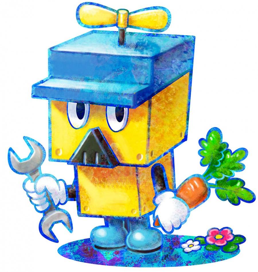Mario Luigi Dream Team Concept Art