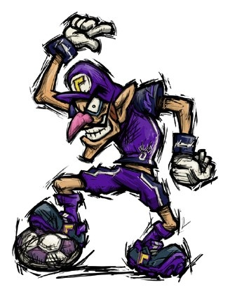 Ayuda en mario strikers charged for Mario strikers coloring pages