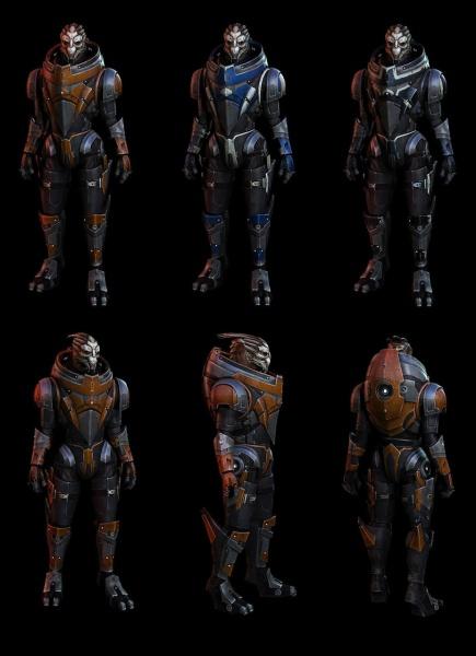 Mass Effect 3 Concept Art