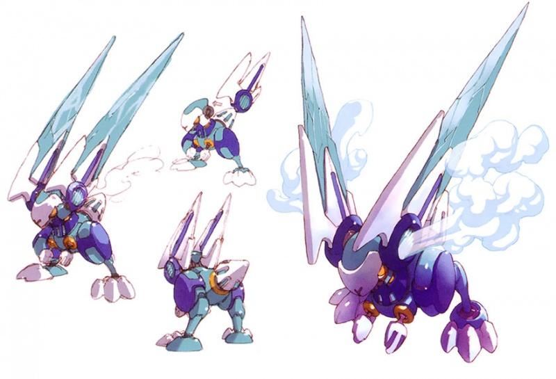 Mega Man Zero 3 Concept Art - Neoseeker