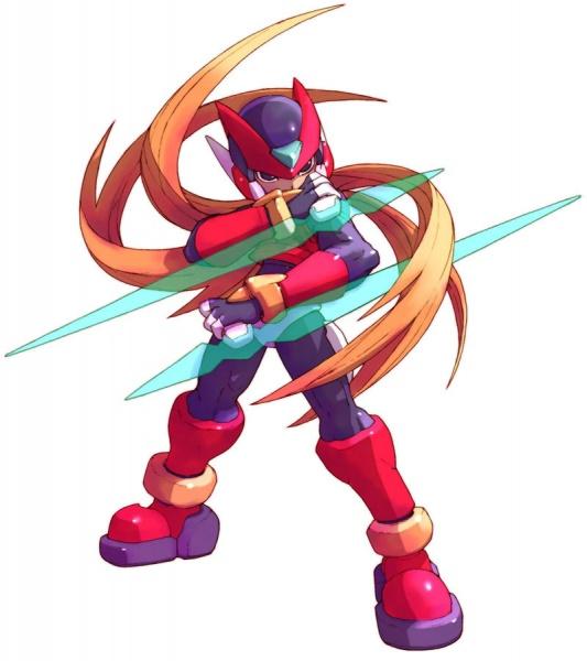 Mega Man Zero 3 Concept Art