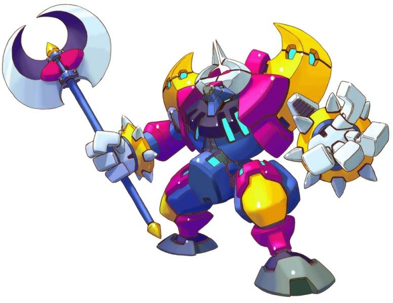 Mega Man Zero 4 Concept Art