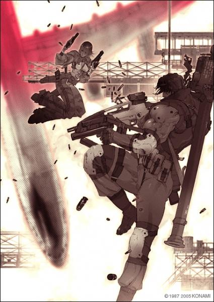 Metal Gear Acid Concept Art