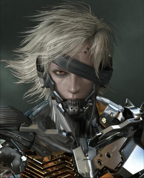 Metal gear rising revengeance concept art for Concept metal