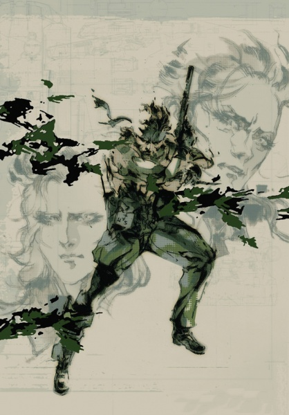 Metal Gear Solid 3 Snake Eater Hd Edition Concept Art